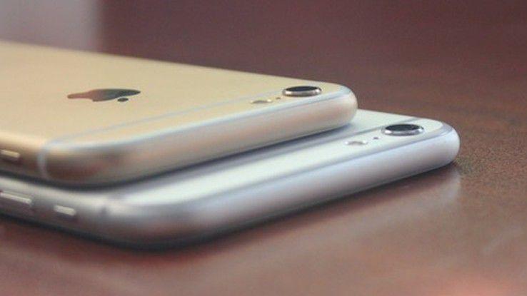 Wie bereits iPhone 6 und iPhone 6 Plus könnten auch die Nachfolger unterschiedliche Kameras bekommen.