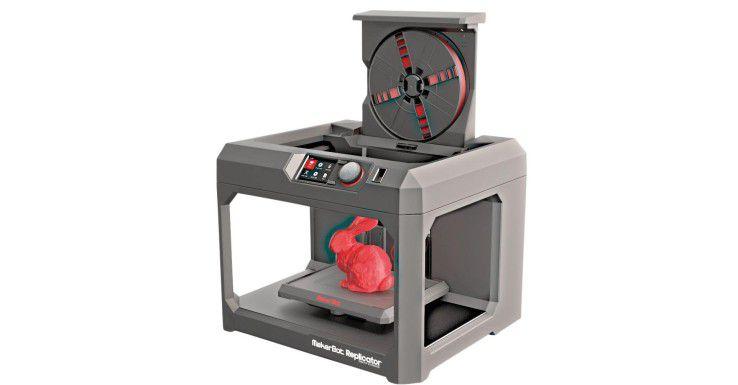 Der 3D-Drucker von Makerbot ist eher für Privatanwender gedacht.