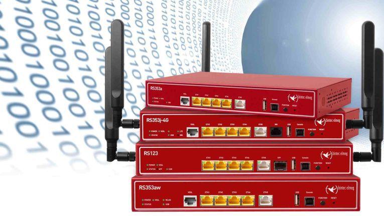 RS-Router von Bintec Elmeg: Per Lizenz auf 30 VPN-Tunnel ausbaufähig.
