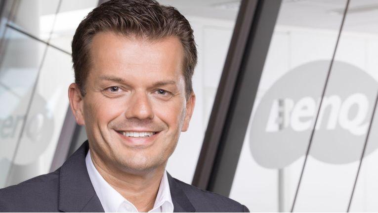 Oliver Barz, Managing Director and Vice President Europe bei BenQ, hat die individuelle Beratung des Spezialdistributors aus Hamburg überzeugt.