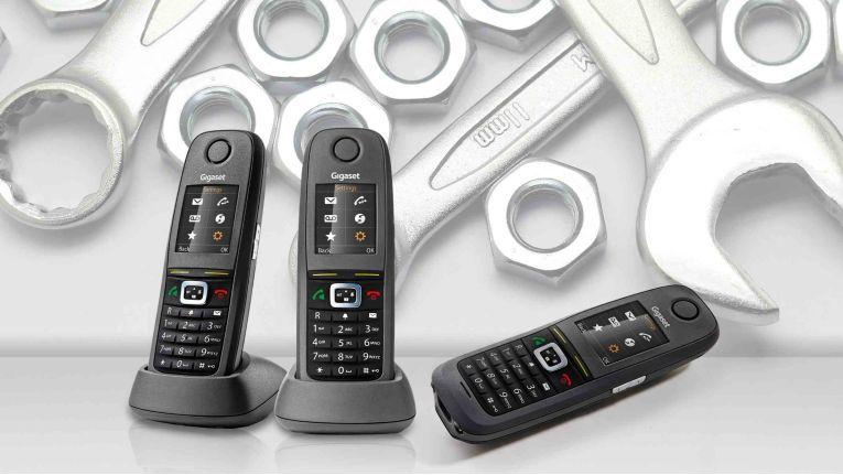 Elmeg D150R von Bintec Elmeg: Hier ist ein fast baugleiches Gerät des Kooperationspartners Gigaset abgebildet.