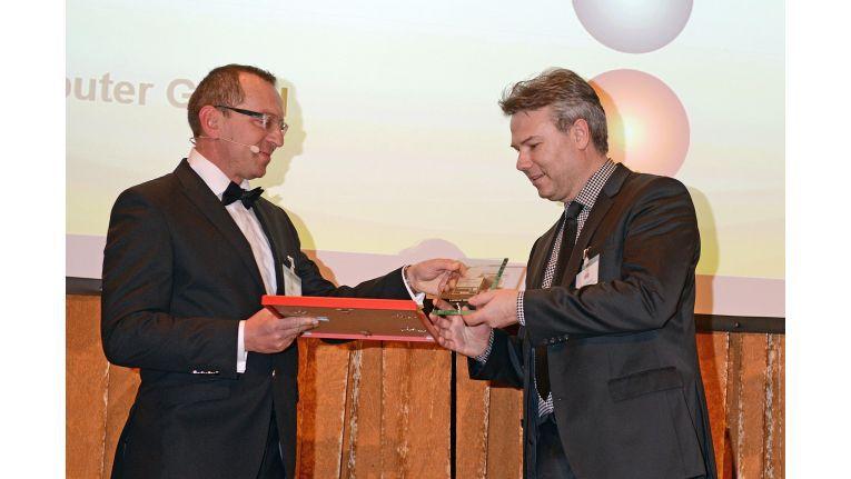 Noch vor einem Monat nahm Pasquier gleich zwei Channel Excellence Awards entgegen.