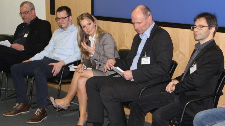Isabelle von Künßberg, Leiterin Business Development bei acmeo cloud-distribution, in der Workshop-Session bei Channel meets Cloud