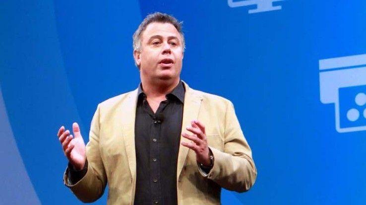 Dion Weisler, CEO von HP Inc., gewinnt Marktanteile im PC-Geschäft. Doch den größten Ertrag wirft wie immer das Geschäft mit Druckerzubehör ab.