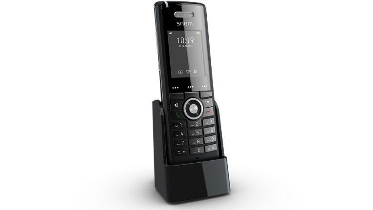 Snom M65: Handset mit Breitband-HD-Audiosystem.