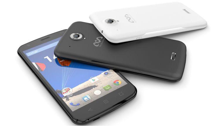 Das MobiWire Pegasus wird als LTE-Smartphone für digitale Trendsetter mit brillanten 5 Zoll-HD-Bildschirm beworben.