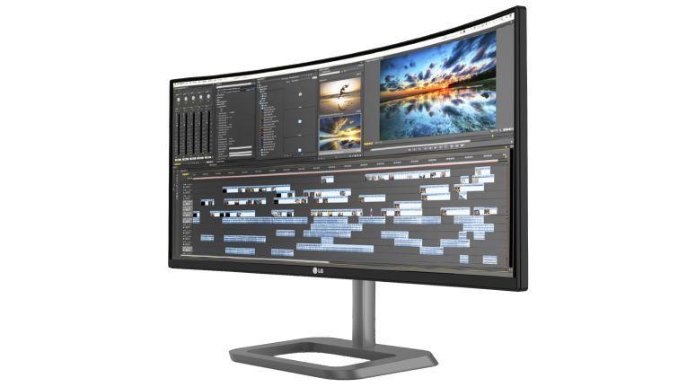 LG präsentiert den Premium Business Monitor im Curved Design mit 86,36 cm (34 Zoll) Bildschirmdiagonale.