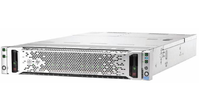 Avnet will seinen Partnern mit der HP 'Drive the Deal' Initiative Chancen im wachsenden Markt für konvergente und hyperkonvergente Systeme aufzeigen. Hier das hyperkonvergente HP ConvergedSystem 200-HC StoreVirtual System.