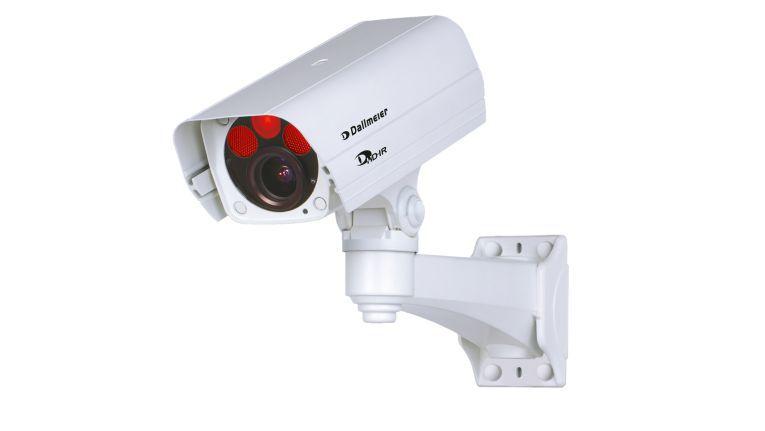 """Die Netzwerkkamera """"DF4820HD-DN/IR"""" von Dallmeier unterstützt Auflösungen bis zu 2-Megapixel."""