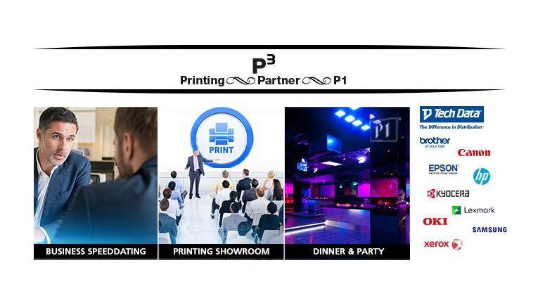 Vom Arbeitsplatzdrucker bis zu den Chancen für den 3D-Druck spannt sich der Themenbereich Drucker beim Speed Dating der Tech Data am 18. Juni 2015 in München.