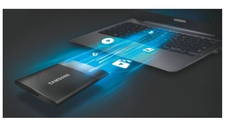 Samsung Portable SSD T1 im Test