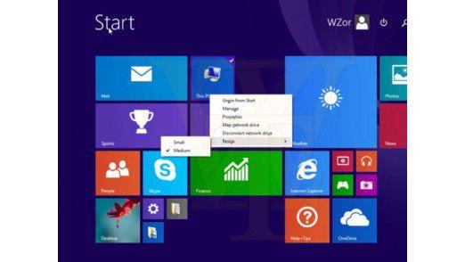 Das Windows 8.1 Update 1 kommt vielleicht erst im April diesen Jahres.