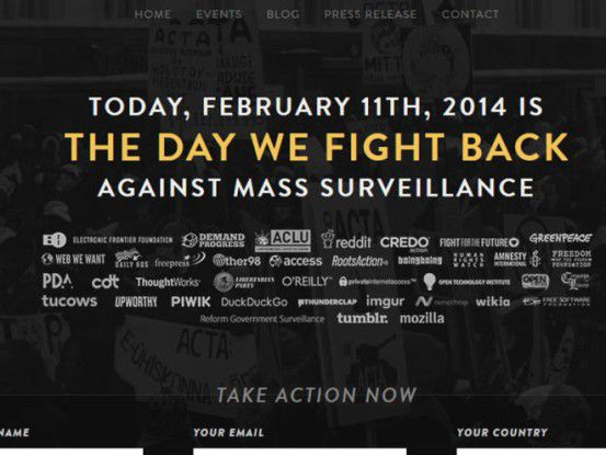"Aktion ""The Day We Fight Back"""