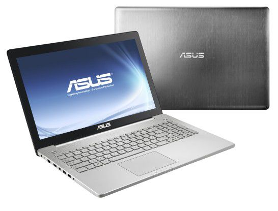 Asus N550JK: Multimedia-Notebook mit Geforce GTX 850M