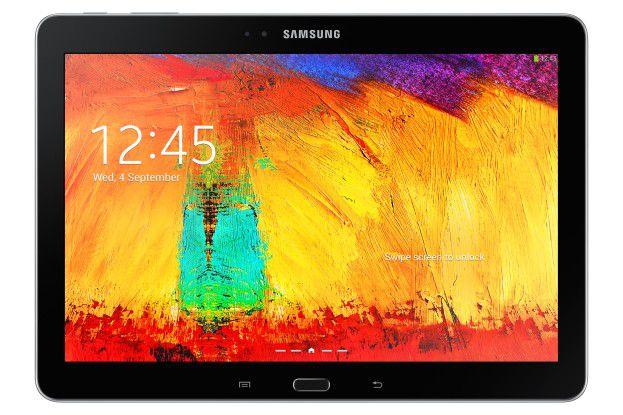 Display mit 2560 x 1600 Bildpunkten: Samsung Galaxy Note 10.1 2014