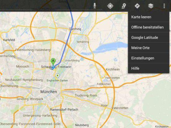 Google Maps: Verbesserte Stau-Umfahrung und Offline-Karten