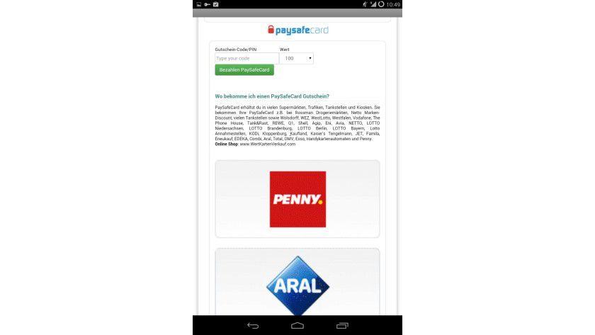 Zur Zahlung des Lösungsgeld sollen die erpressten Nutzer die nicht nachverfolgbare Bezahldienste Paysafecard oder uKash nutzen.