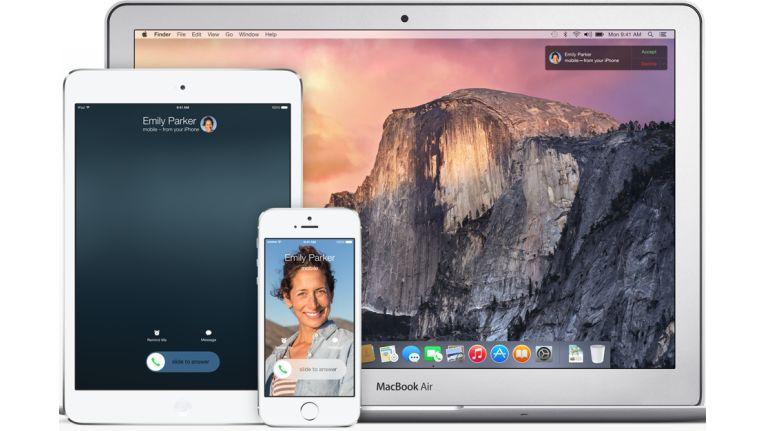 Wer mehrere iOS-Geräte und Mac OS mit der identischen Apple-ID nutzt, kann auf allen Geräten jeweils seine iMessages lesen oder schreiben.