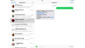 Apple iOS 8 auf dem iPad Air - SMS und Telefonanrufe