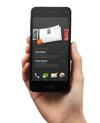 Trotz des gefloppten Fire Phone führt Amazon die Entwicklungen im Smartphone-Bereich offentlichtlich fort.