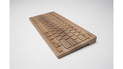 Gadget des Tages: Orée Board 2 - Wireless Keyboard aus Holz - Foto: Orée