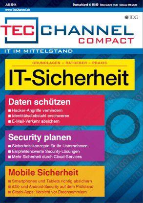 TecChannel Compact 05/2014: Auf über 160 Seiten wird das Thema IT-Sicherheit detailliert behandelt.