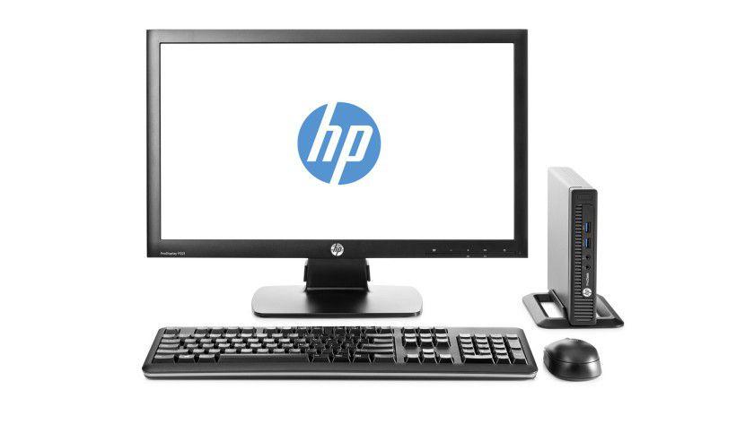 HP will das Geschäft mit PCs und Druckern abspalten.