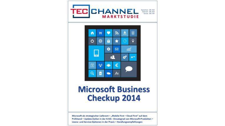 Mehr als 80 Seiten nutzwertige Information bietet der Microsoft-Business Checkup.