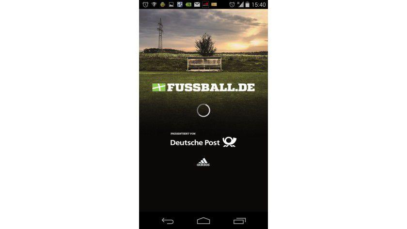 Optisch attraktiv, aber mit weniger Funktionen wie die Sportschau-App.