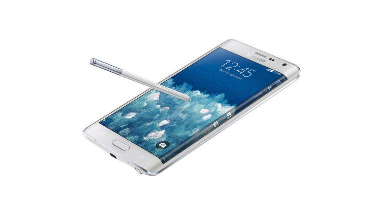 Das Display der Samsung Galaxy Note Edge hat eine Pixeldichte von 524 PPI - Ziel sind Displays mit Pixeldichten von 2.250 PPI.
