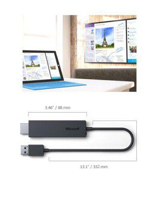 Der Microsoft Wireless Display Adapter unterstützt Miracast und Intels WiDi.