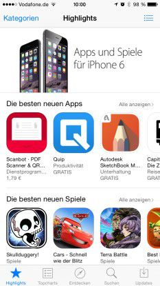 apps herunterladen iphone