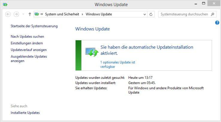 Installieren Sie regelmäßig Updates für Windows, auch für andere MS-Programme wie Microsoft-Office.