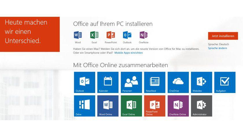 Office Delve steht zu Testzwecken in den großen Enterprise-Editionen von Office 365 zum Test bereit.