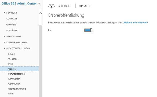 Über Office 365-Updates kommen Sie an die Testumgebung von Delve und weiteren neuen Funktionen.