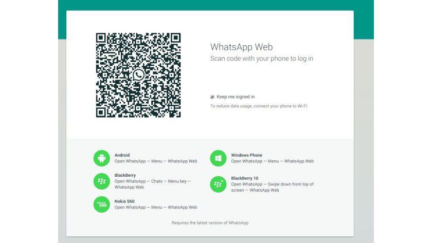 WhatsApp im Browser: Chats auf dem PC sind auch auf dem Mobiltelefon zu sehen.