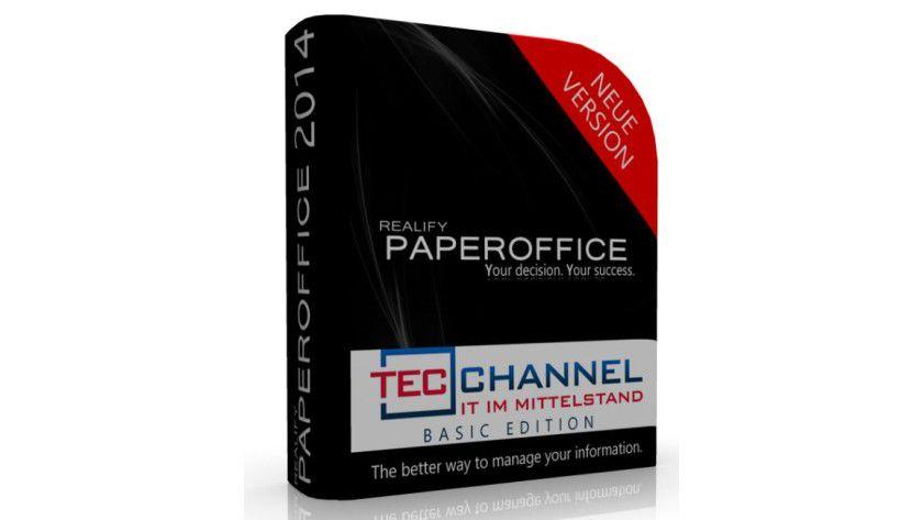 PaperOffice speichert Dokumente verschlüsselt in virtuellen Mappen.