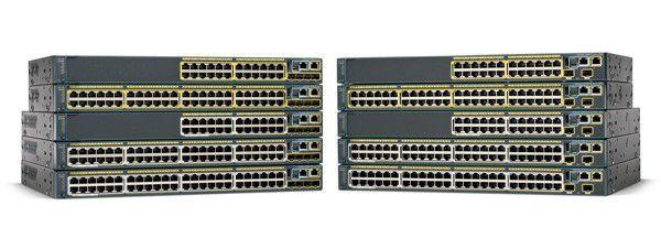 Stehen bei den TecChannel-Lesern hoch im Kurs: Die Cisco-Modelle der Catalyst Series 2960.