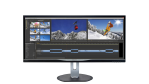Philips: 34-Zoll-Display im 21:9-Format - Foto: MMD
