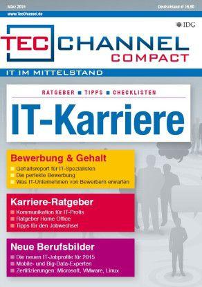 160 Seiten Ratgeber und Tipps für Ihre Karriere in der IT finden Sie im neuen TecChannel Compact.
