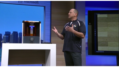 Windows 10 unterstützt 3D-Druck - Foto: Microsoft