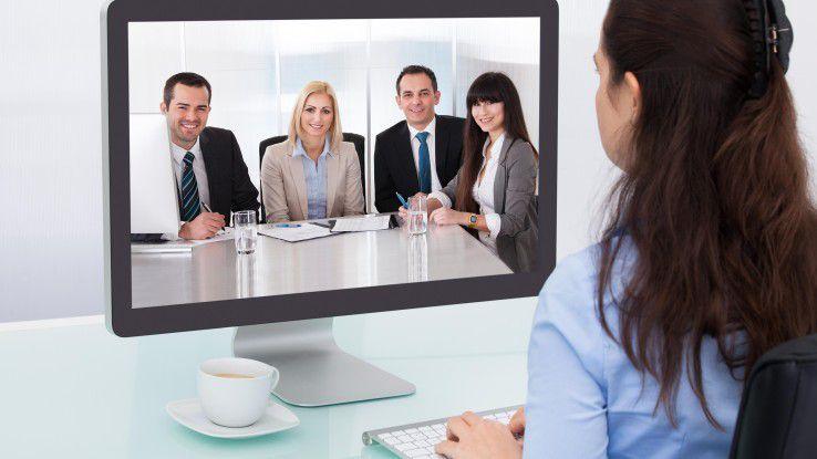 Unternehmen, die sich für eine Videokonferenzlösung entscheiden, sollten auf Kompatibilität achten.
