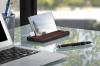 LaCie Mirror – externe Festplatte mit Gorilla Glass und Ebenholzständer