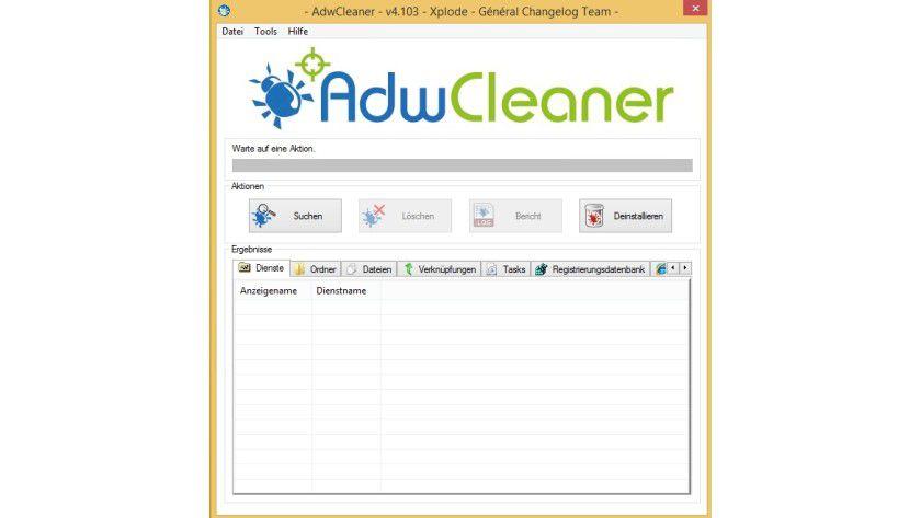 Adwcleaner kann Windows zuverlässig von Trojanern befreien.