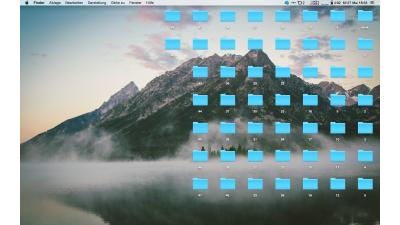 Mac OS X - Desktop aufräumen - Foto: Lukas Leitsch