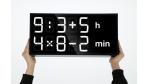 Gadget des Tages: Albert Clock - Uhr für Rechenkünstler - Foto: Axel Schindlbeck & Fred Mauclere