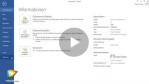 Videoanleitung: Word 2013 - wiederkehrende Texte speichern