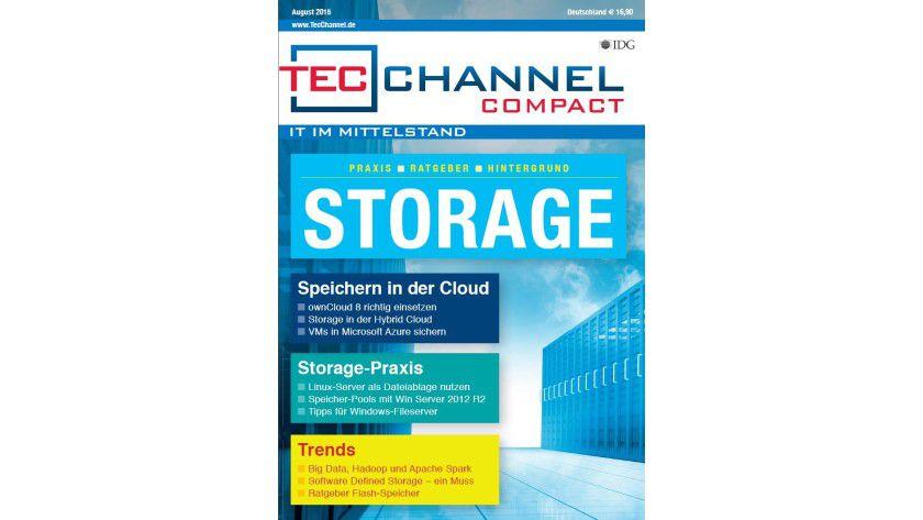 160 Seiten Praxis, Ratgeber und Hintergrund bietet Ihnen das TecChannel Compact Storage.