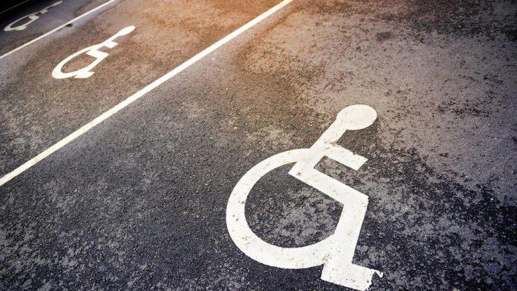 Laut statistischem Bundesamt leben in Deutschland rund zehn Millionen Menschen mit Behinderung.