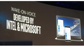 Intel Wake-on-Voice für Cortana